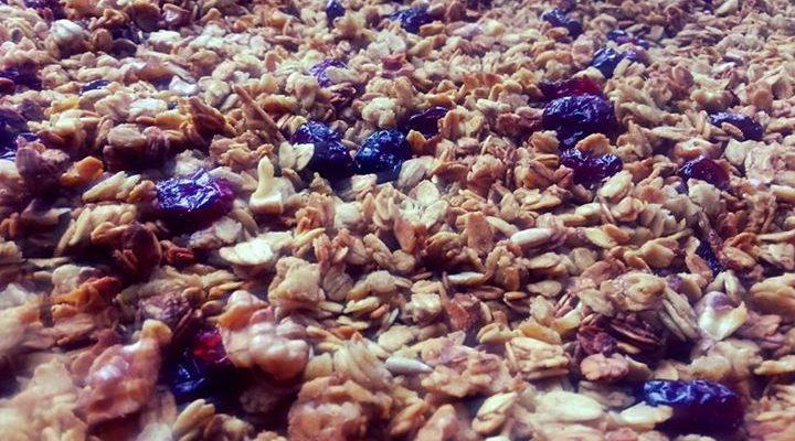Domowe płatki (granola)