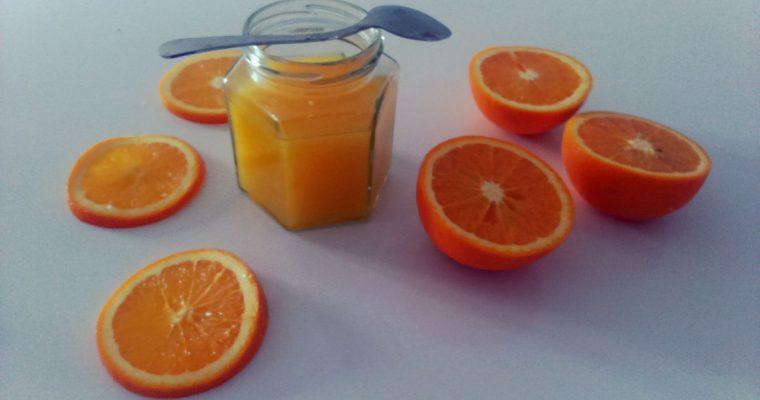 Kisiel pomarańczowy