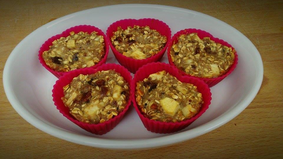 Muffinki z komosą ryżową