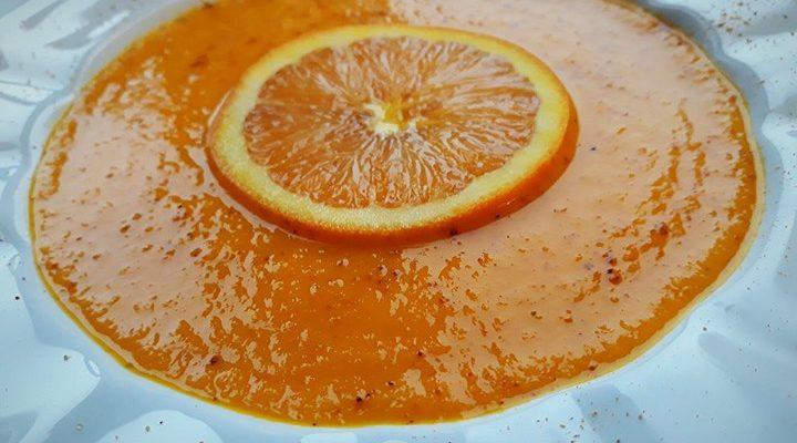 Aromatyczna zupa krem z marchwi